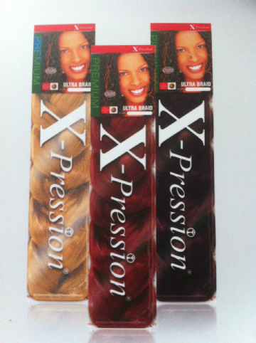 ULTRA BRAID  XPRESSION HAIR EXTENSION FOR BRAID, TWIST, CORNROW